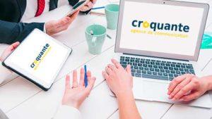 croquante agence de communication digitale et création de site web vitrine et ecommerce