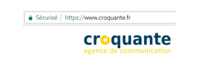 croquante site web sécurisé https